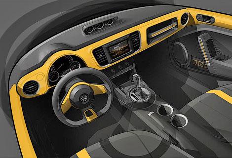 Версию VW Beetle для бездорожья покажут в Детройте
