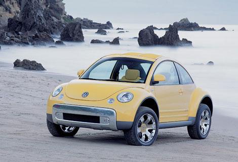 Версию VW Beetle для бездорожья покажут в Детройте. Фото 1