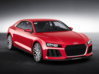 Автомобили Audi обзаведутся лазерными фарами