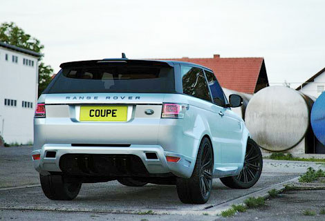 Ателье Bulgari Design показало программу тюнинга Range Rover Sport. Фото 1