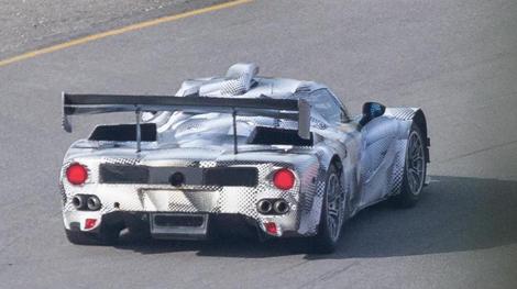 Новый автомобиль класса LMP1 приступил к тестам в Европе