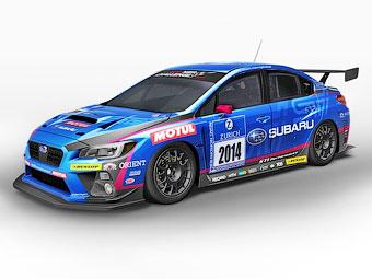 В Subaru подготовили новый WRX STI для гонок на выносливость
