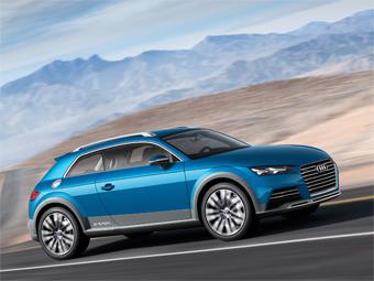 В Audi показали концептуальный 408-сильный кроссовер