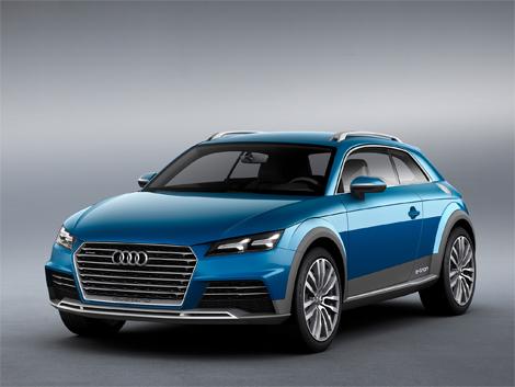 Прототип Audi allroad shooting brake получил гибридную силовую установку