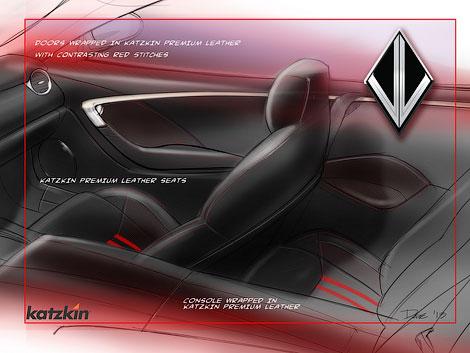 Фирма бывшего топ-менеджера GM показала открытый вариант Fisker Karma