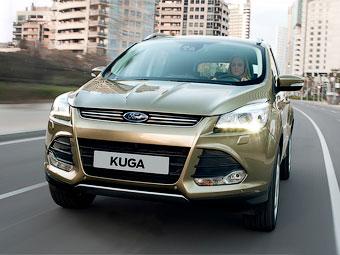 Российскому Ford Kuga добавили бюджетные версии и новый мотор