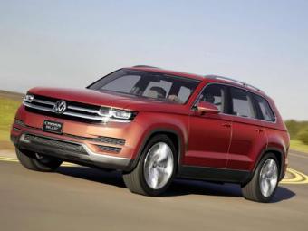 Семиместный вседорожник Volkswagen появится в 2016 году