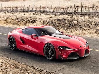 """""""Тойота"""" представила дизайн будущих моделей"""