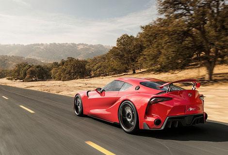 Новое направление дизайна Toyota продемонстрировали на концептуальном спорткупе
