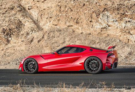 Новое направление дизайна Toyota продемонстрировали на концептуальном спорткупе. Фото 1