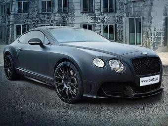 Немцы построили для Китая тюнинговый Bentley Continental GT