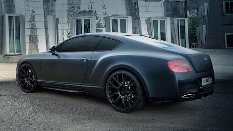 Купе Bentley оснастили 672-сильным двигателем V8