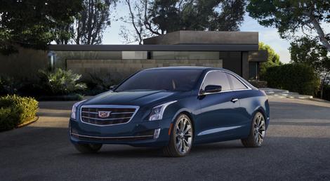 Купе Cadillac ATS будет доступно с двумя моторами