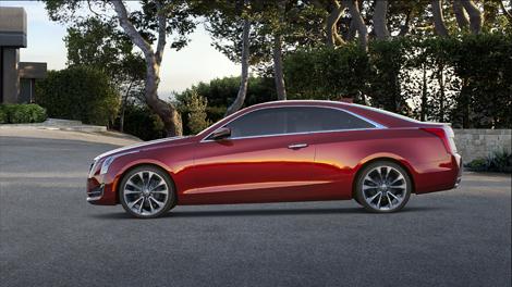 Купе Cadillac ATS будет доступно с двумя моторами. Фото 2
