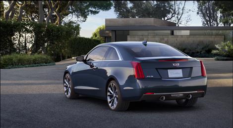 Купе Cadillac ATS будет доступно с двумя моторами. Фото 3