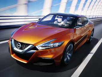 Nissan показал будущее своих моделей на спортивном седане
