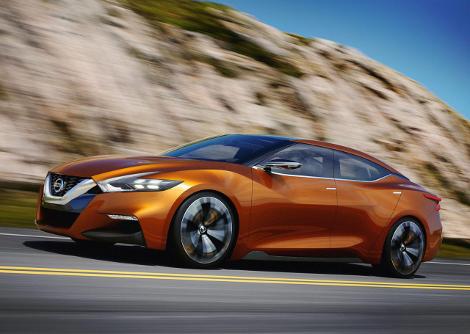 В Детройте дебютировал концепт-кар Nissan Sport Sedan