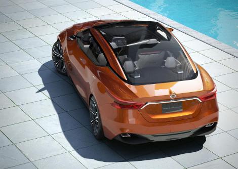 В Детройте дебютировал концепт-кар Nissan Sport Sedan. Фото 1