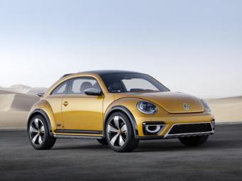 """Volkswagen привез в Детройт внедорожный """"Жук"""""""