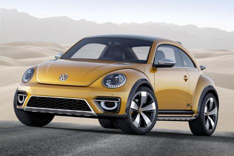 Volkswagen Beetle получил увеличенный на 50 миллиметров дорожный просвет