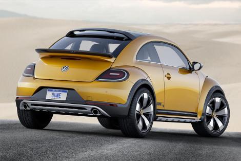 Volkswagen Beetle получил увеличенный на 50 миллиметров дорожный просвет. Фото 1