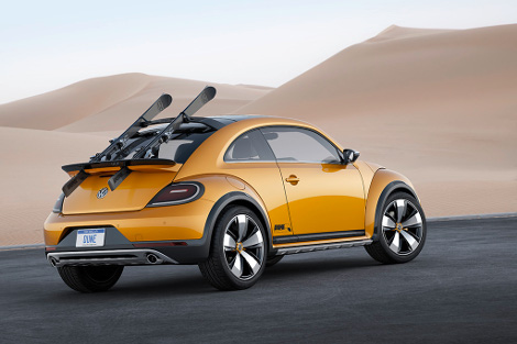Volkswagen Beetle получил увеличенный на 50 миллиметров дорожный просвет. Фото 2