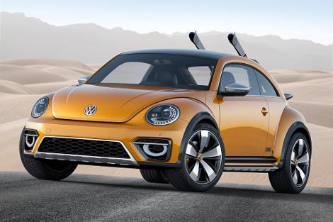 Volkswagen Beetle получил увеличенный на 50 миллиметров дорожный просвет. Фото 4