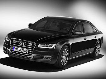 Обновленный Audi A8 защитили от гранат