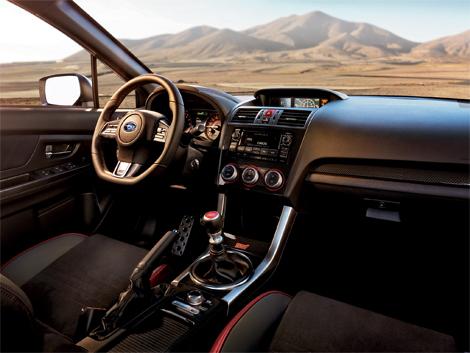 Седан WRX STI нового поколения дебютировал на автосалоне в Детройте. Фото 3