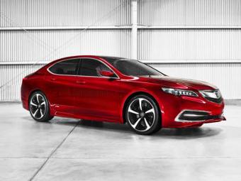 Acura заменит две модели новым седаном