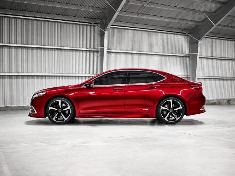 В Детройте дебютировал концептуальный седан Acura TLX