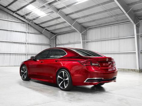 В Детройте дебютировал концептуальный седан Acura TLX. Фото 1