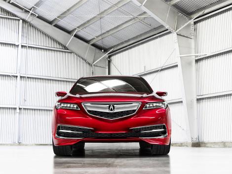 В Детройте дебютировал концептуальный седан Acura TLX. Фото 2