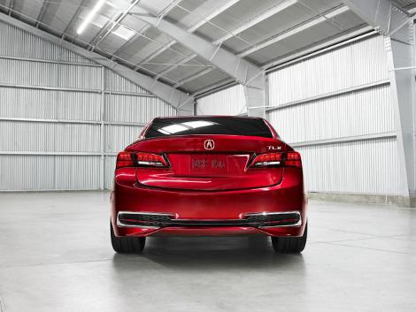 В Детройте дебютировал концептуальный седан Acura TLX. Фото 3