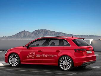 Audi привезет в Россию гибридный хэтчбек A3