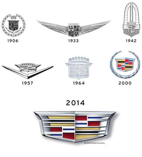 Первыми новую эмблему получат Cadillac CTS и ATS