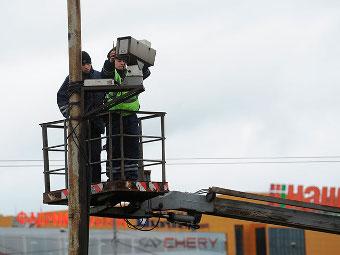 Восстановление работы дорожных камер Подмосковья отложили