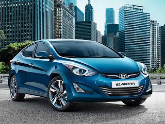 Обновленный седан Hyundai Elantra в России подорожал