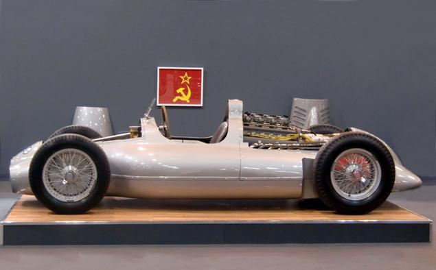 Лучшие гоночные автомобили СССР, которые никогда не выходили на старт. Фото 3