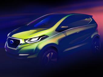 Компания Datsun показала внешность первого концепта