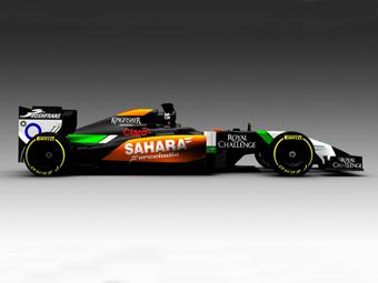 Force India первой из команд Ф-1 показала новую машину