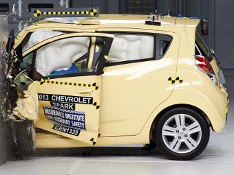 Американцы назвали Chevrolet Spark самым безопасным компакт-каром