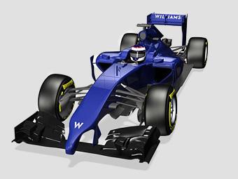 Williams первой из команд Ф-1 показала нос нового автомобиля