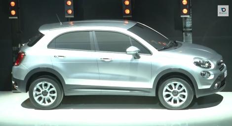В Сети появились патентные изображения вседорожника Fiat 500X. Фото 2