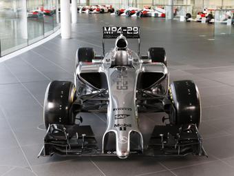 Команда McLaren показала новый болид Формулы-1
