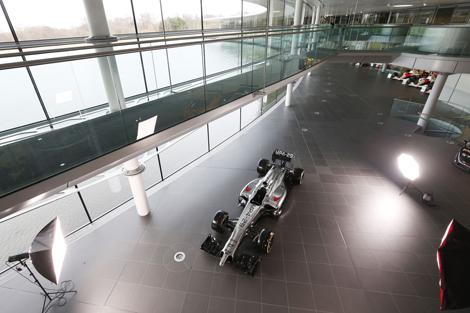 Гоночный автомобиль для сезона-2014 получил индекс MP4-29. Фото 2
