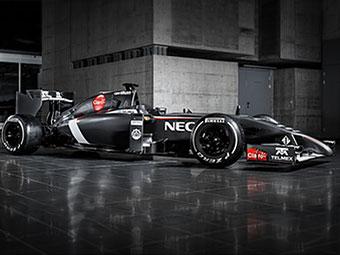 Команда Формулы-1 Sauber рассекретила машину для сезона-2014