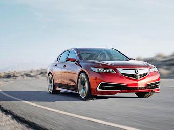 Acura привезет в Россию седан