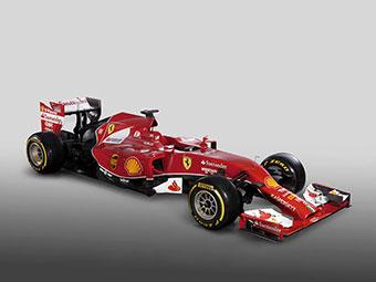 Ferrari показала новый автомобиль Формулы-1