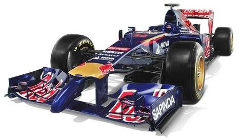 Российский гонщик продемонстрировал новый автомобиль Формулы-1 команды Toro Rosso